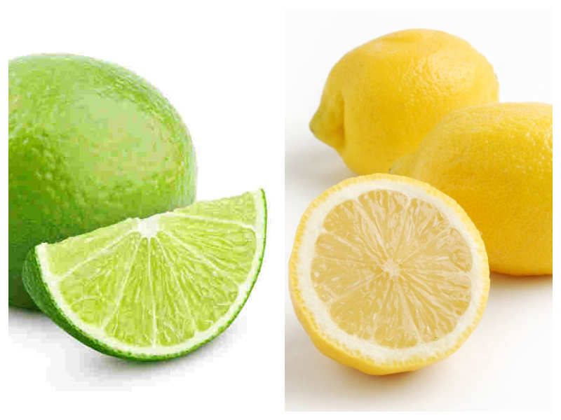Lemon vs Lime (Nimbu vs Mausami) Difference: What's the ...