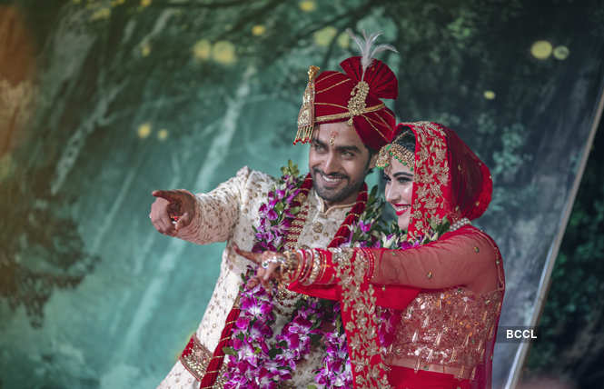 rohit purohit and sheena bajaj wedding