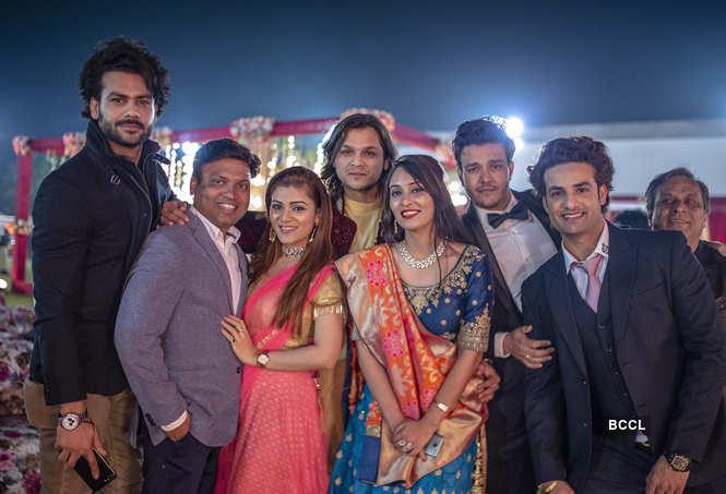 Sheena Bajaj and Rohit Purohit wedding
