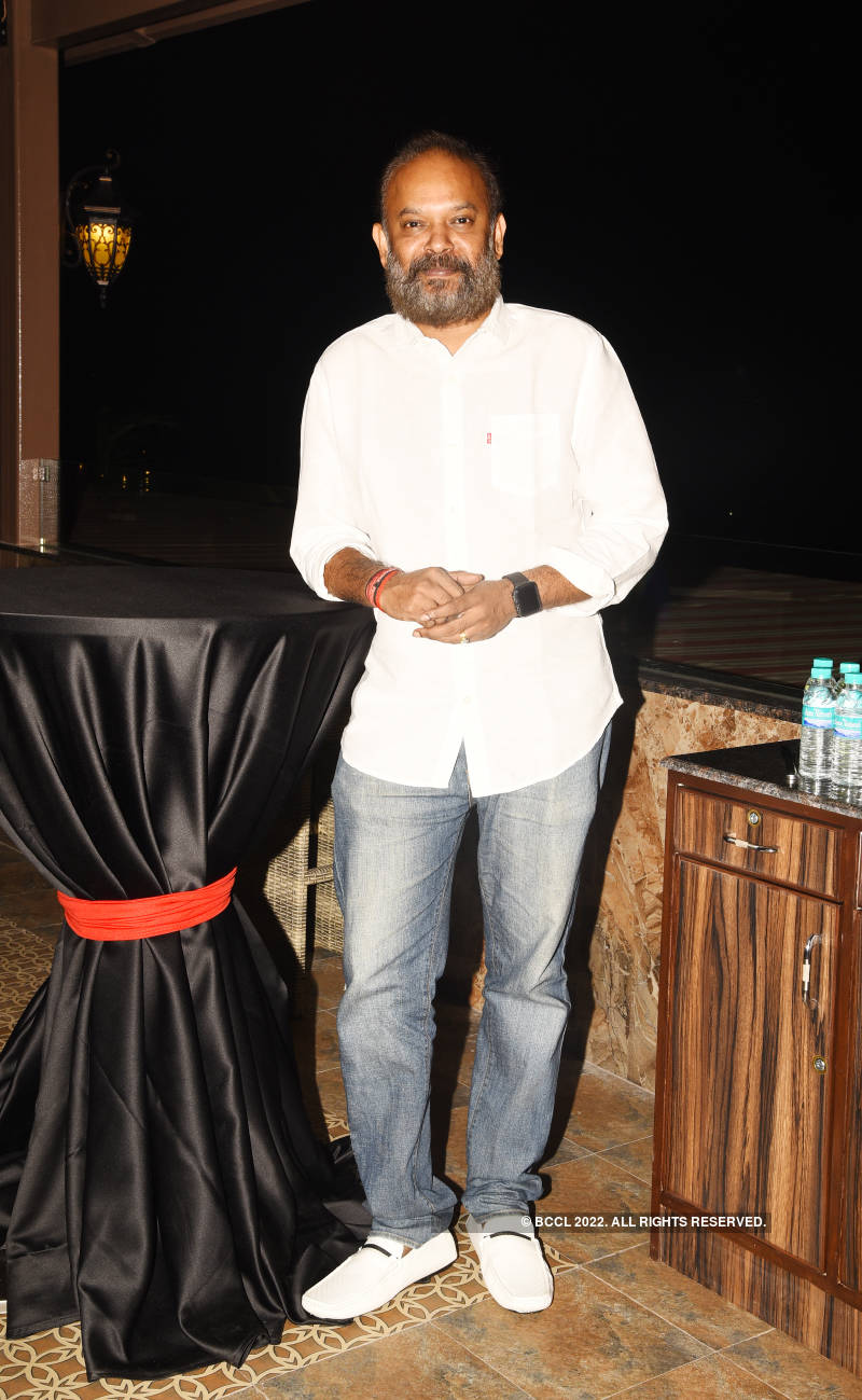 Venkat Prabhu attends the launch of a rooftop lounge
