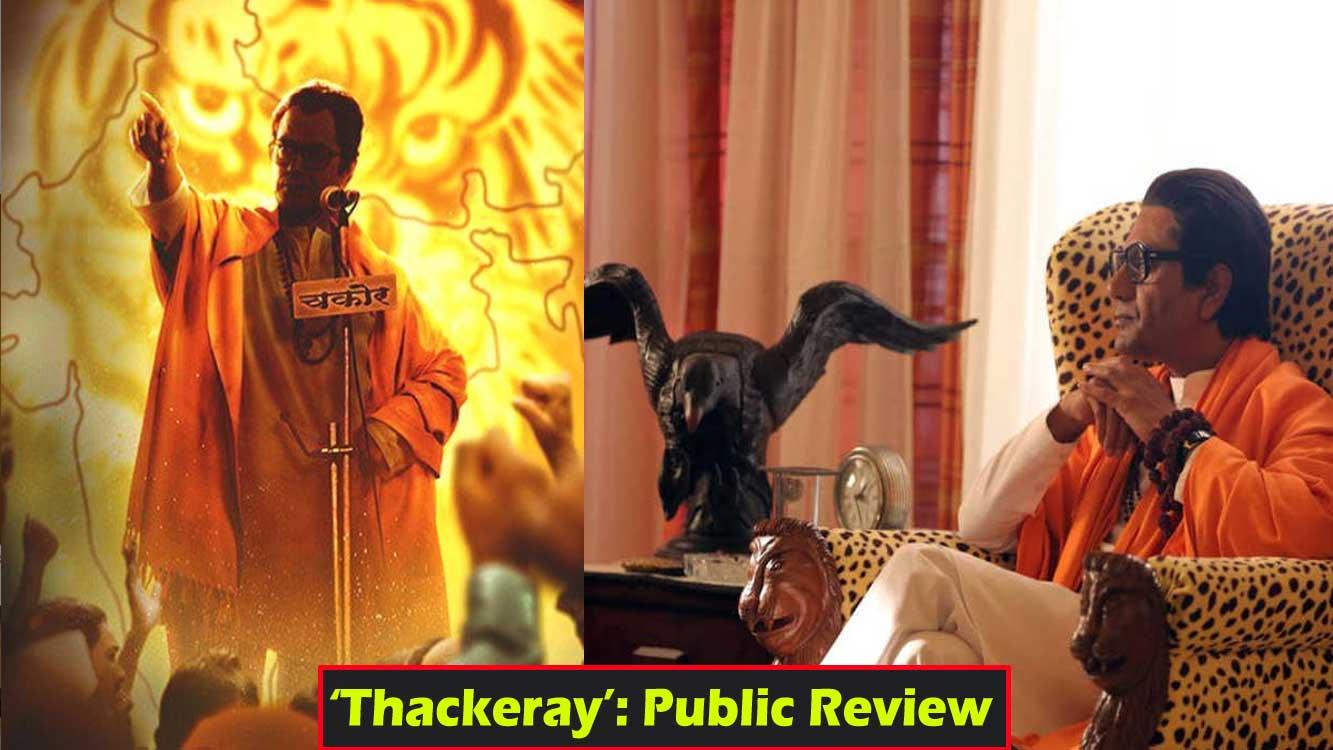 Nawazuddin Siddiqui starrer 'Thackeray' leaked online on the release day  itself!