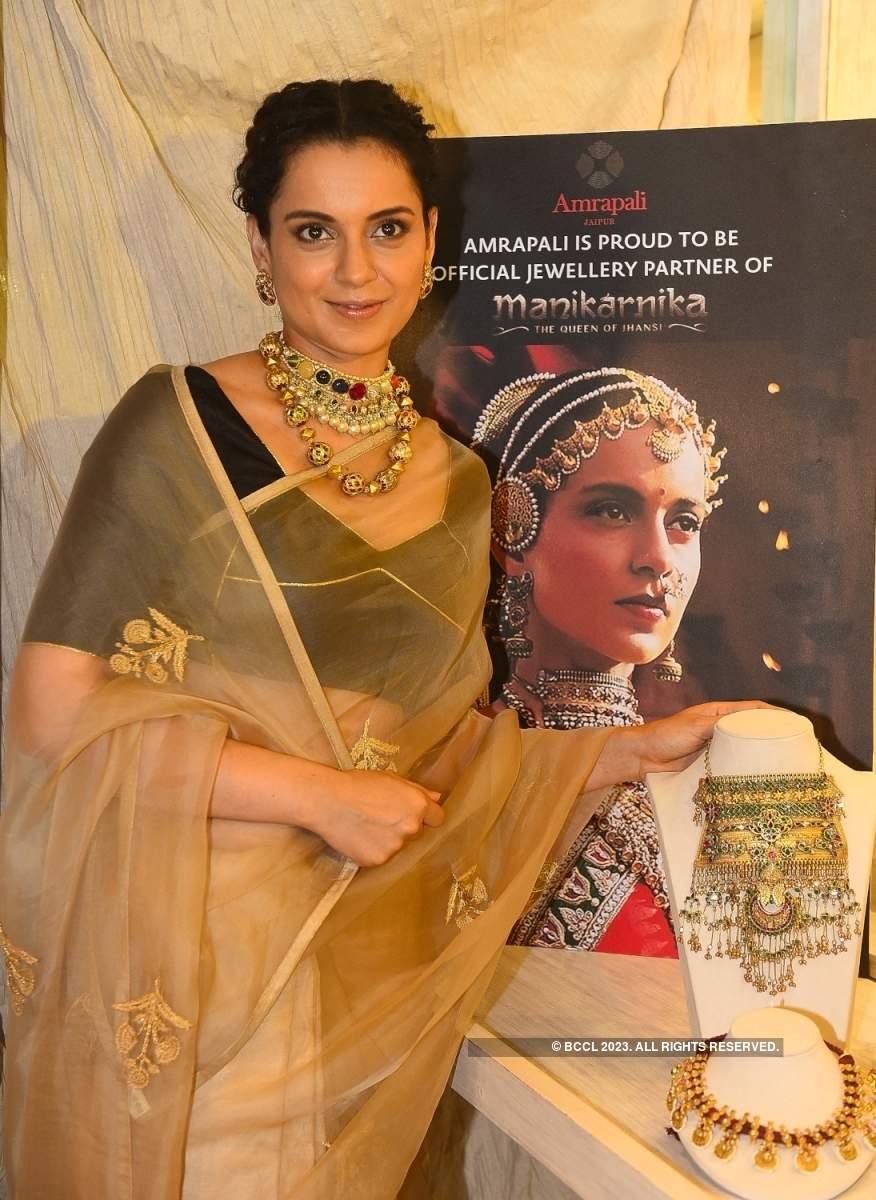 Kangana Ranaut visits jewellery launch of Amrapali Jaipur