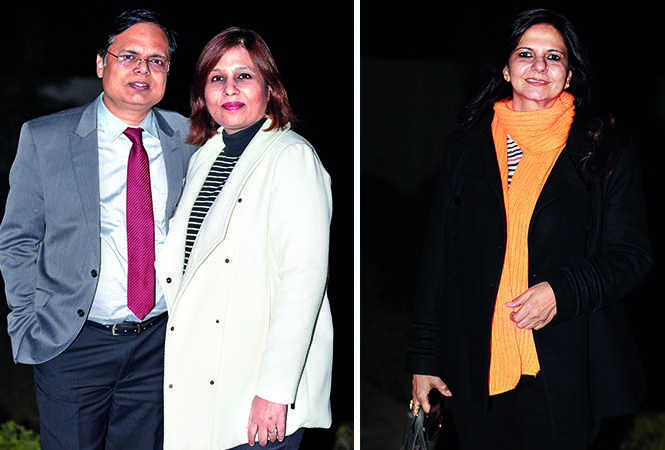 (L) Anupam and Shubhra Mittal (R) Namita Prasad (BCCL/ Aditya Yadav)
