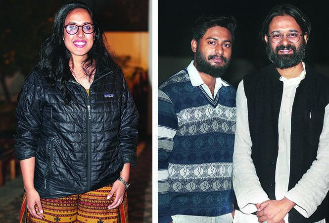 (L) Prasanna (R) Shashank and Masto (BCCL/ Aditya Yadav)