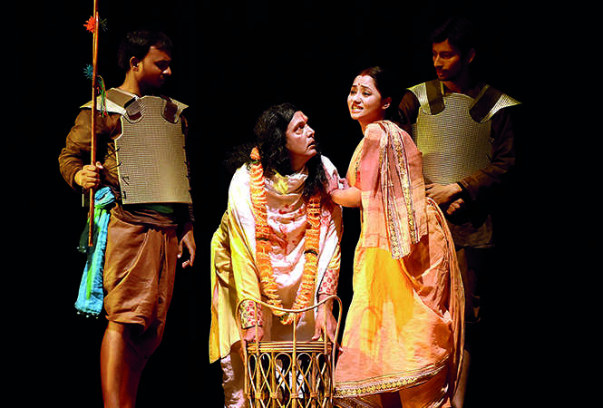 A scene from the play (BCCL/ Farhan Ahmad Siddiqui)
