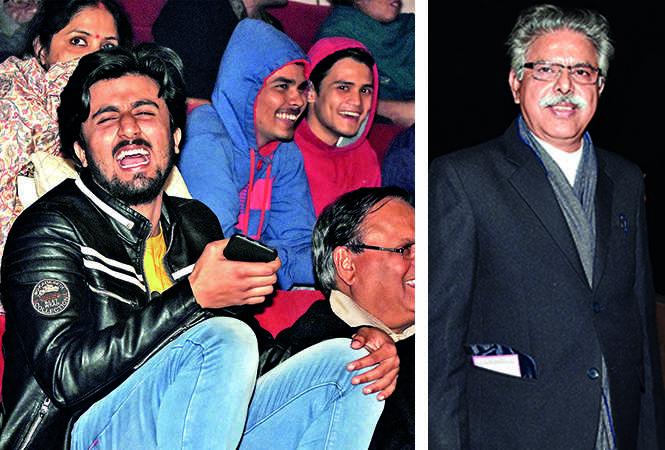 (L) Amit Singh (R) Arun Trivedi (BCCL/ Farhan Ahmad Siddiqui)