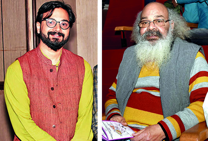(L) Vijit Singh (R) Surya Mohan (BCCL/ Farhan Ahmad Siddiqui)