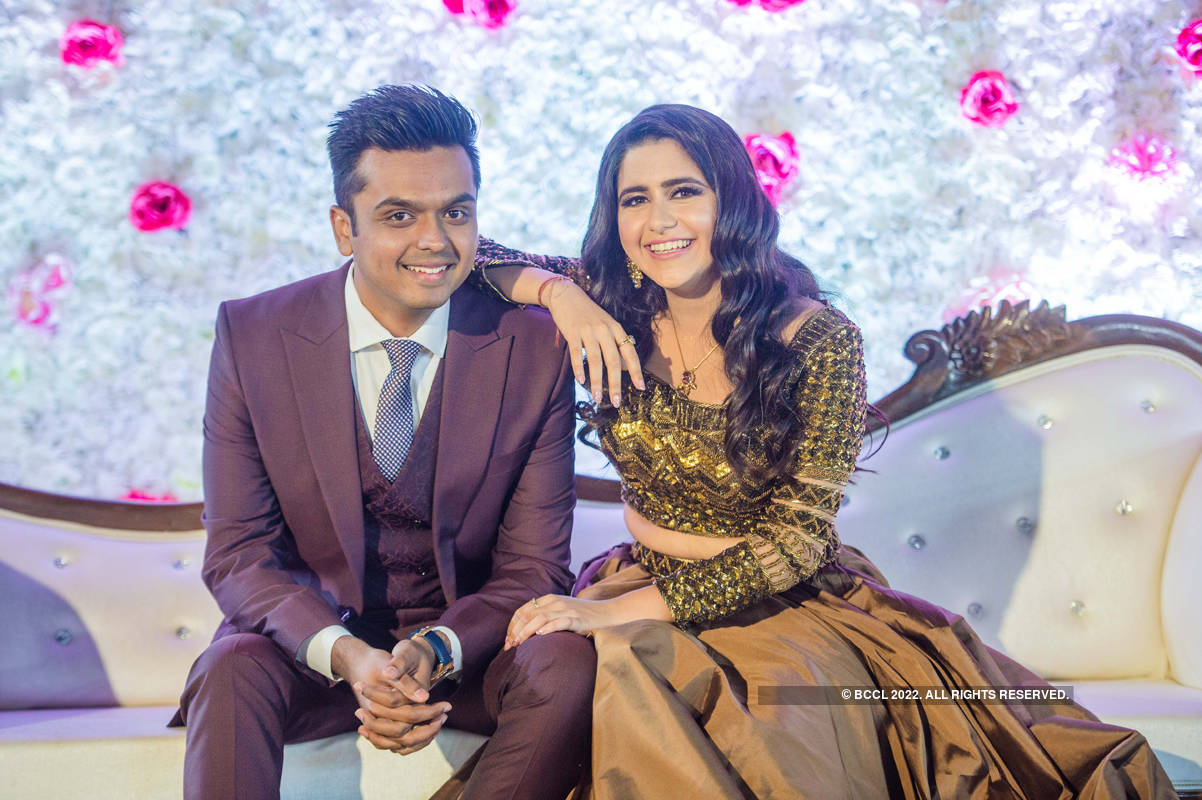 Palak Jain and Tapasvi Mehta's pre-wedding celebration
