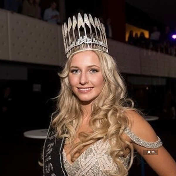 Caro van Gorp crowned Miss Earth Belgium 2019