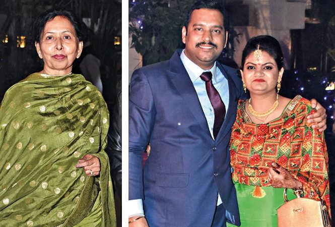 (L) Asha Singh (R) Tejeshwar and Pragya (BCCL/ Farhan Ahmad Siddiqui)