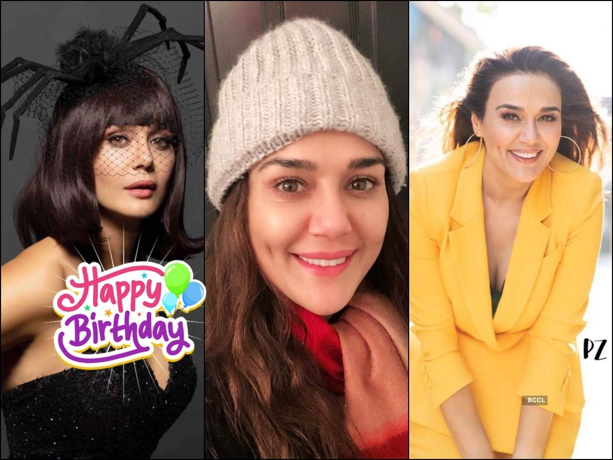 Happy Birthday Preity Zinta: 'Premante Idera' actress continues to ...