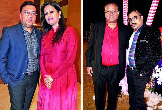 (L) Amit Jindal and Sudha (R) Bharat and Dinesh (BCCL/ IB Singh)