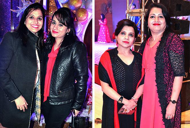 (L) Neha and Kashish (R) Ruchi and Rashi (BCCL/ IB Singh)