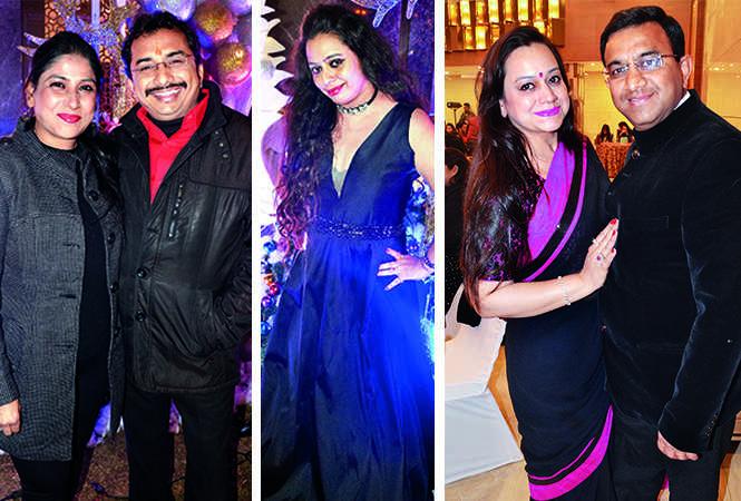 (L) Sarika and Sumit (C) Shagun (R) Shalu and Meherdeep (BCCL/ IB Singh)