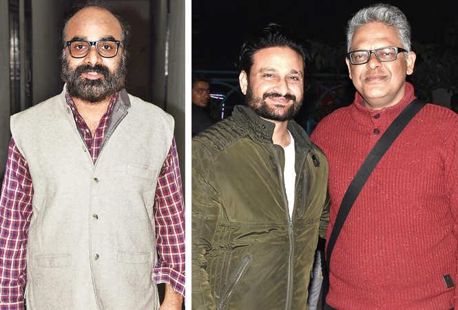 (L) Anil Chaudhary (R) Navneet Pandey and Varun Tamta (BCCL/ Vishnu Jaiswal)