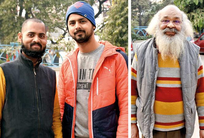 (L) Rohit Kumar and Sumit Prakash Gupta (R) Surya Mohan (BCCL/ Vishnu Jaiswal)
