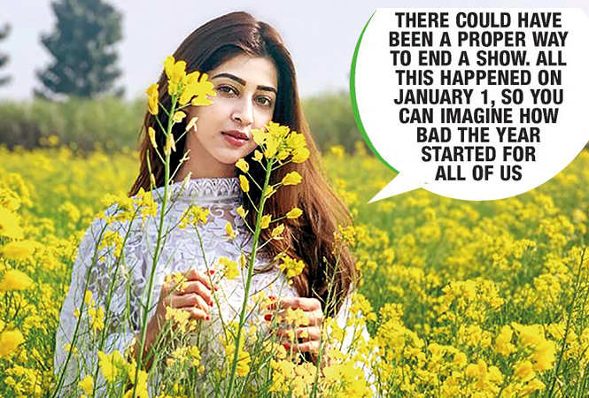 Sonarika giving a DDLJ pose in a mustard field in the village (BCCL)