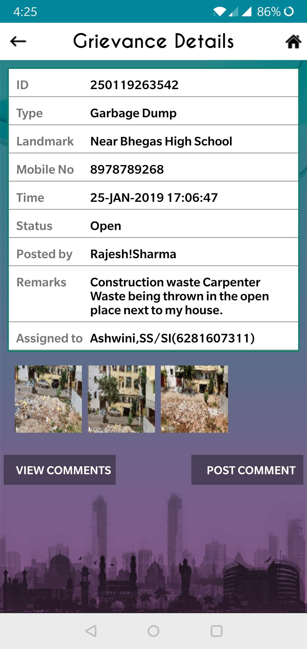 Construction and Garbage - Times of India