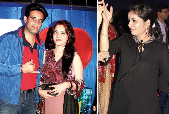 (L) Samir and Sakshi (R) Rakhi (BCCL/ Arvind Kumar)