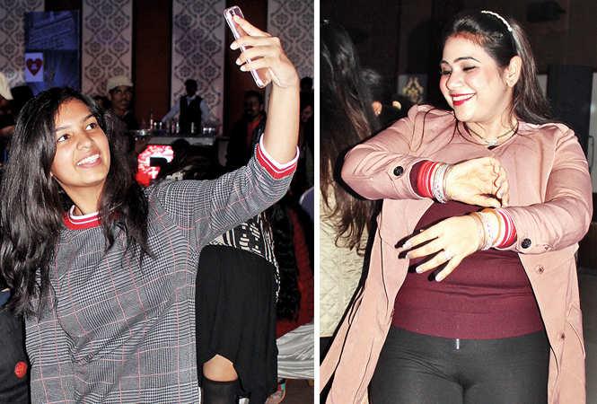 (L) Shreya Jain (R) Sukriti (BCCL/ Arvind Kumar)