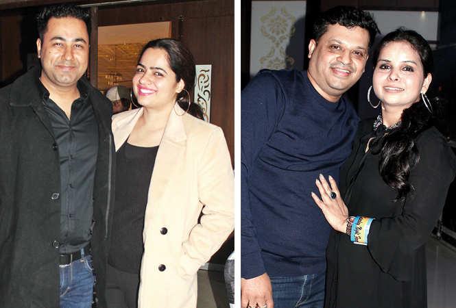 (L) Vijay and Chandani (R) Amit and Rakhi (BCCL/ Arvind Kumar)
