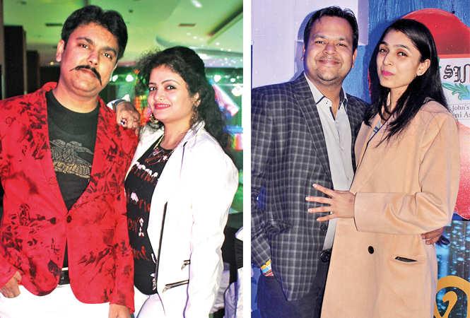(L) Amit and Shweta (R) Amit and Surbhi (BCCL/ Arvind Kumar)
