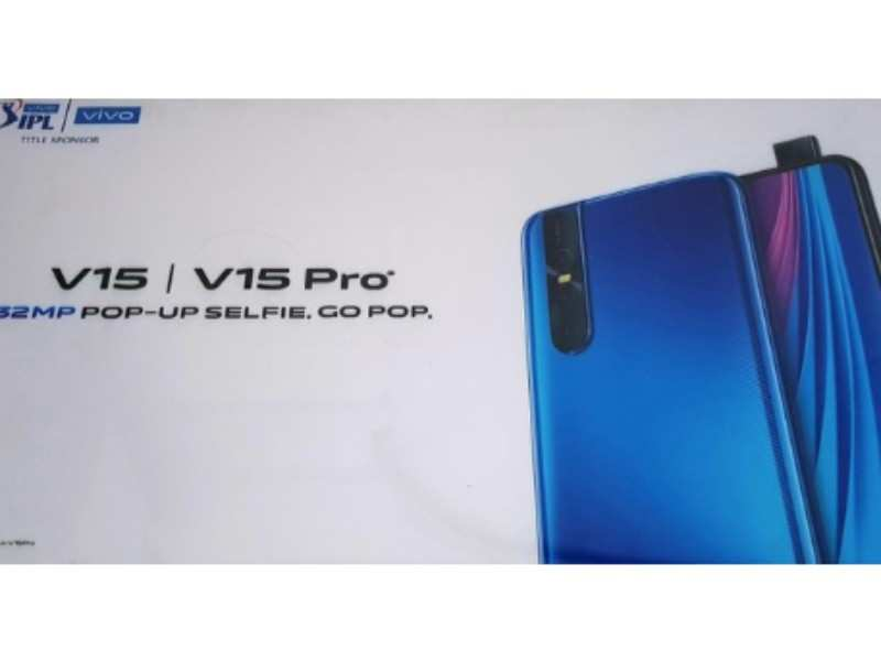 Vivo V15 and Vivo 15 Pro with pop-up selfie camera may launch in India soon