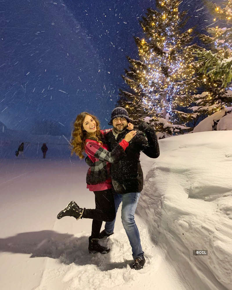 Dia Mirza's vacation pictures with hubby Sahil Sangha will give you major travel goals!