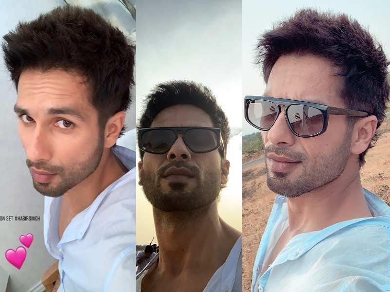 Shahid Kapoor\u0027s selfies from the sets of \u0027Kabir Singh\u0027 are