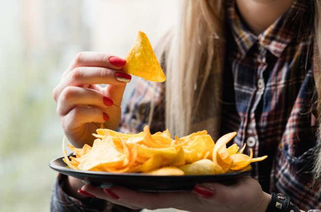 Regular consumption of potato chips