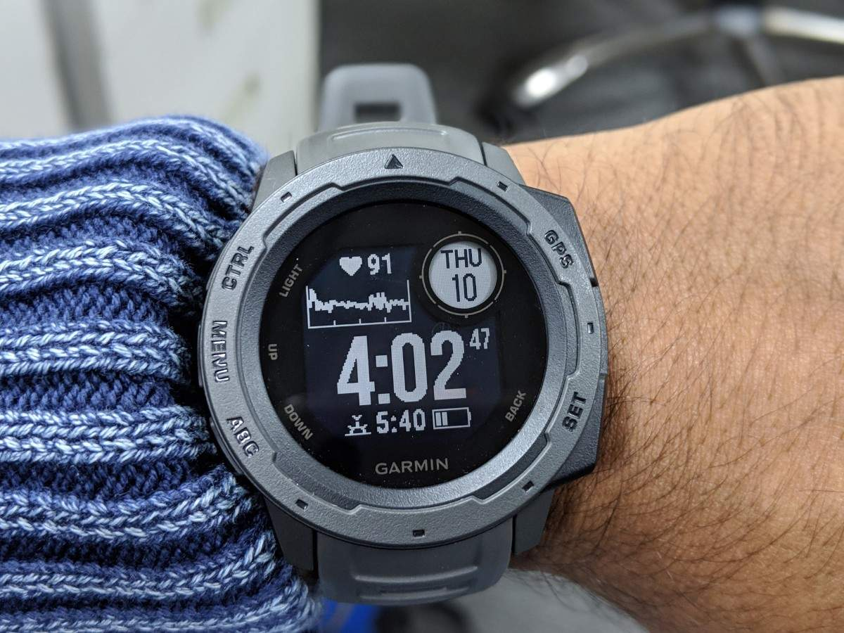 garmin instinct review: Garmin Instinct smartwatch review ...