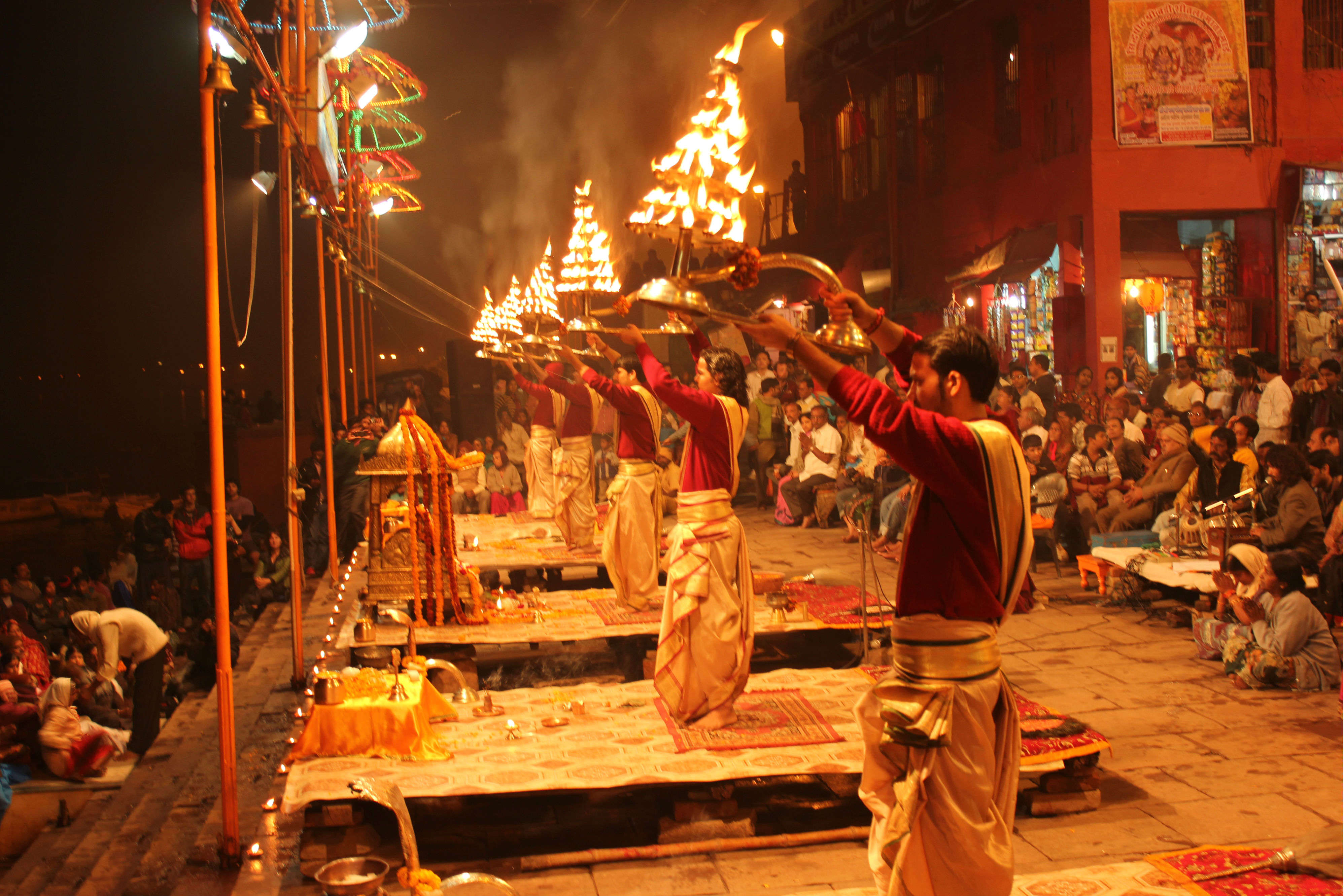 Where to watch Ganga Aarti | Times of India Travel