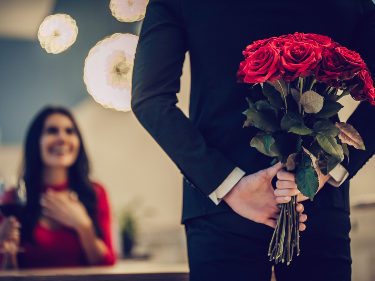 Image result for rose propose