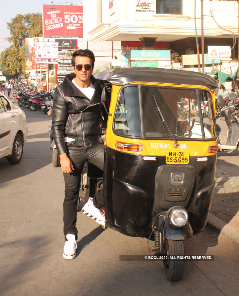 Actor Sonu Sood's exclusive photoshoot