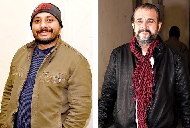 (L) Vivek Mishra (R) Midhat Khan (BCCL/ Vishnu Jaiswal)