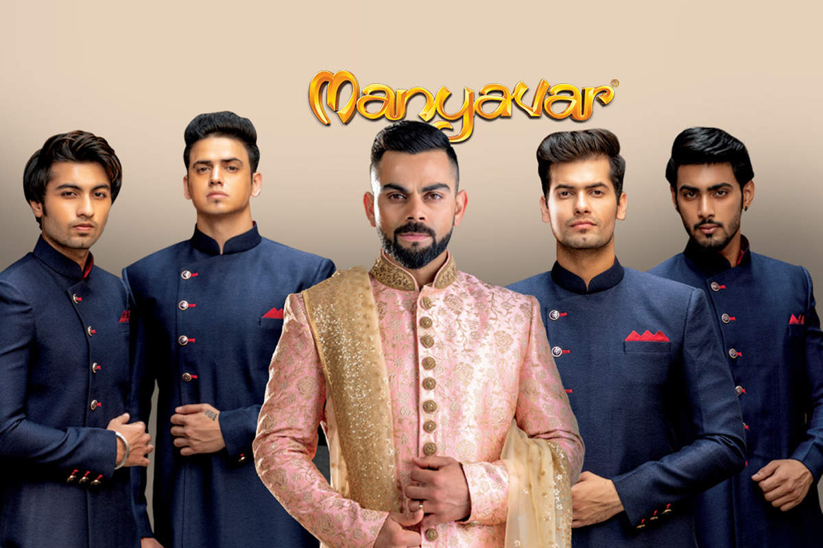 eb92008ac0f Celebrating these 11 shaadi moments with Virat Kohli   Manyavar ...