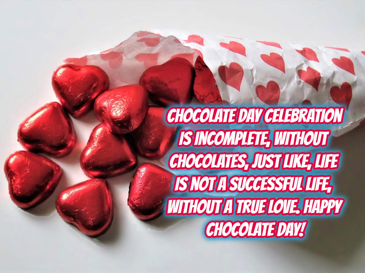 Happy Chocolate Day 2019 messages, status, cards