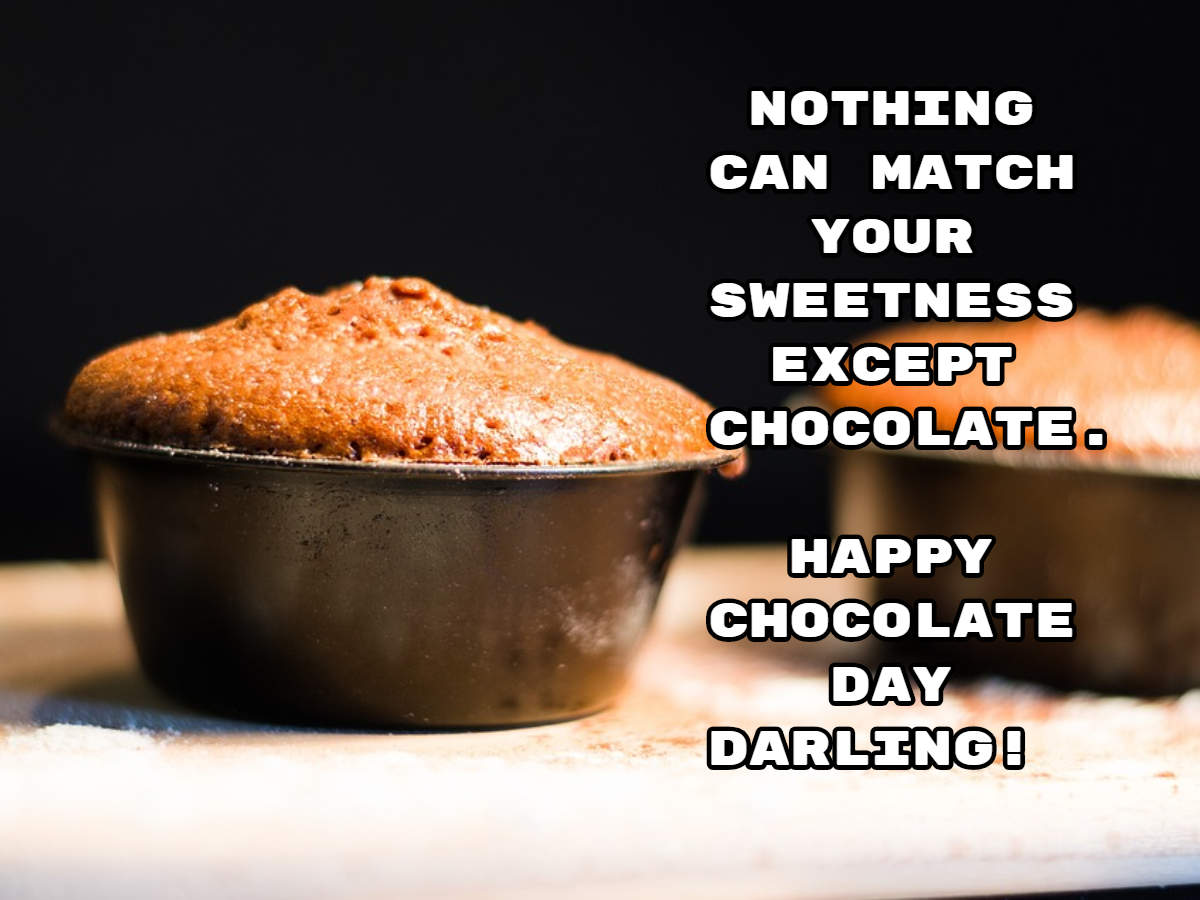 Happy Chocolate Day 2019 quotes, pictures, GIFs