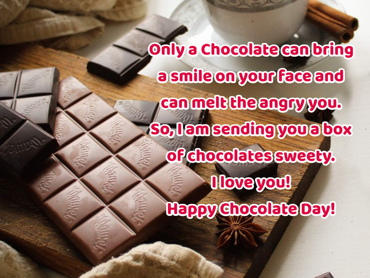 Happy Chocolate Day 2019 messages, quotes, pictures and wishes
