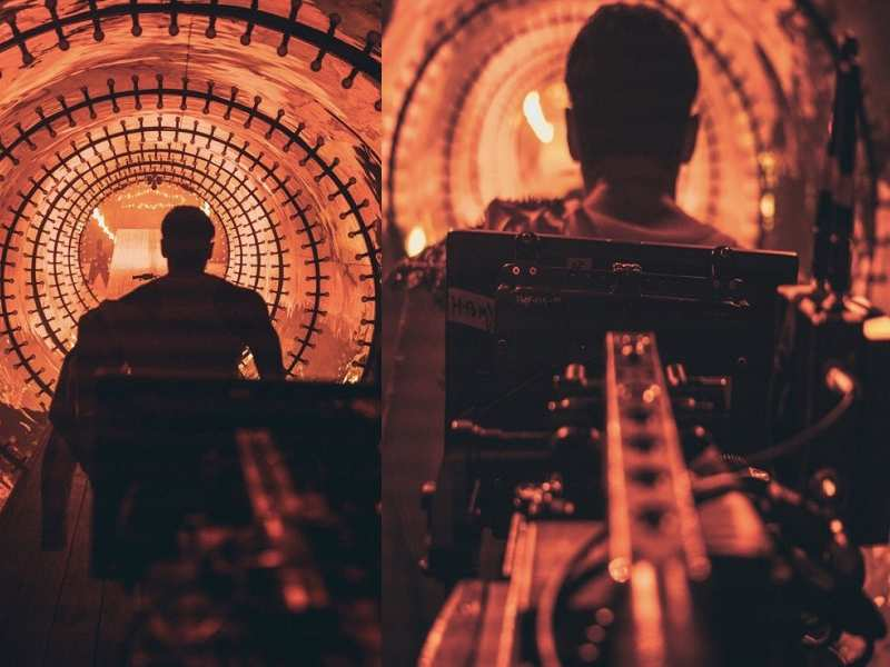 ​ali Abbas Zafar Teases Everyone With More Bts Pictures From The Sets Of 'bharat'