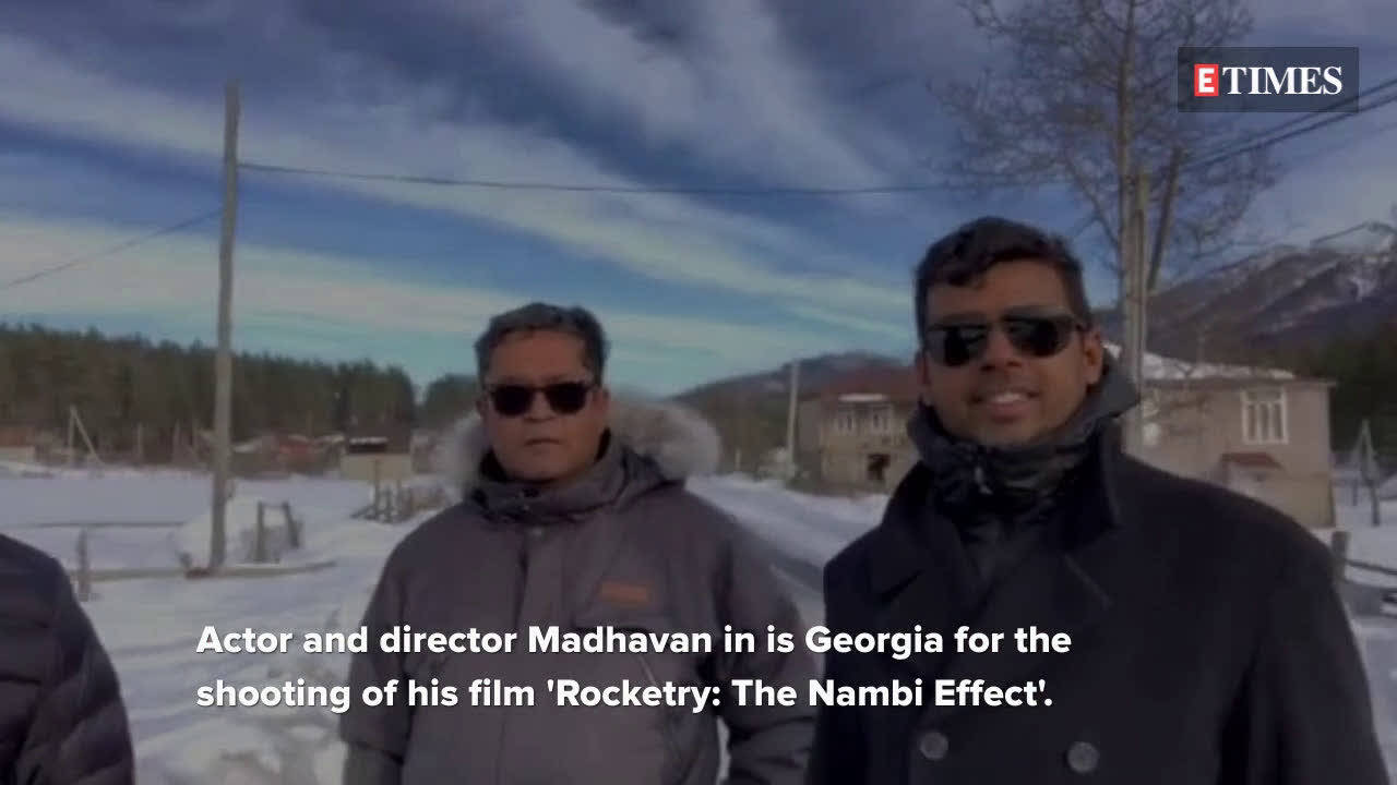 Madhavan goes location hunting in Georgia for 'Rocketry: The Nambi Effect'