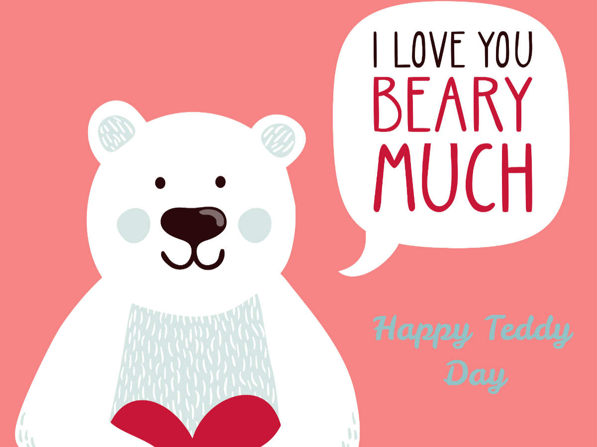 Happy Teddy Day 2019 Images Cards Greetings Wishes