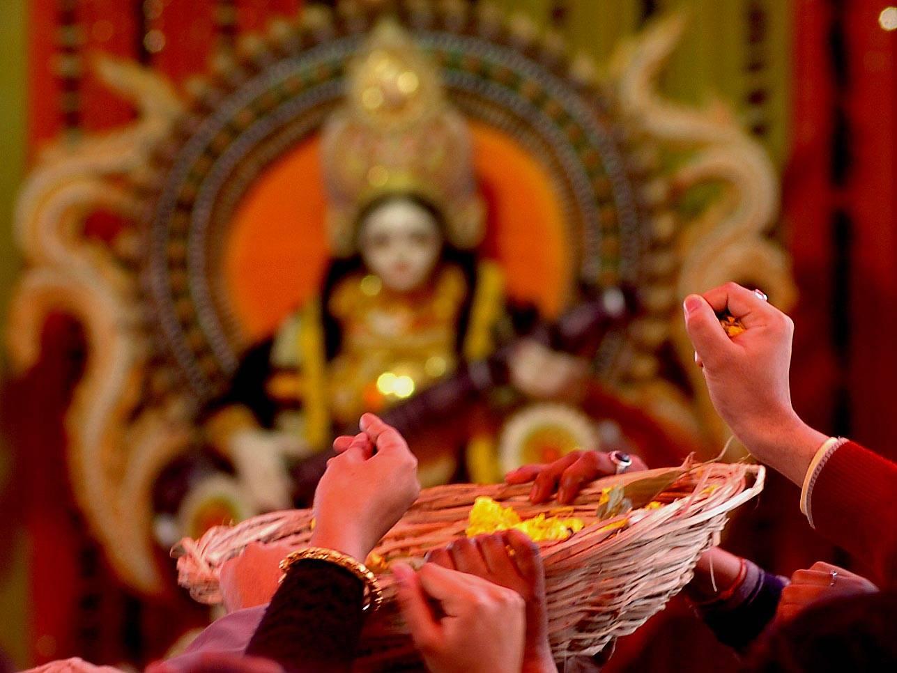 Saraswati Puja 3