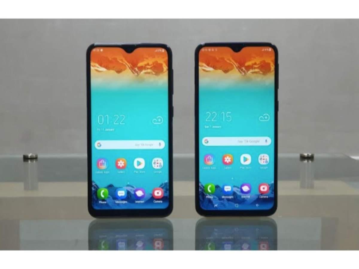 Samsung Galaxy M10 and Galaxy M20 went on sale on Amazon