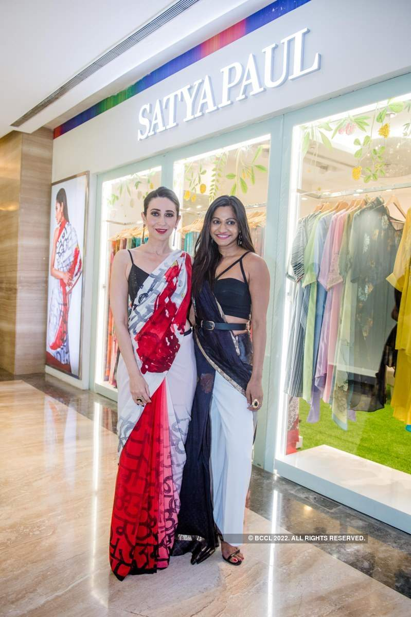 Karisma Kapoor launches Satya Paul's 'Spice Bloom' collection