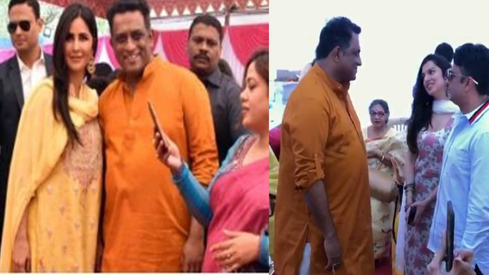 From Katrina Kaif to Abhishek Bachchan, celebrities at Anurag Basu's Saraswati puja event