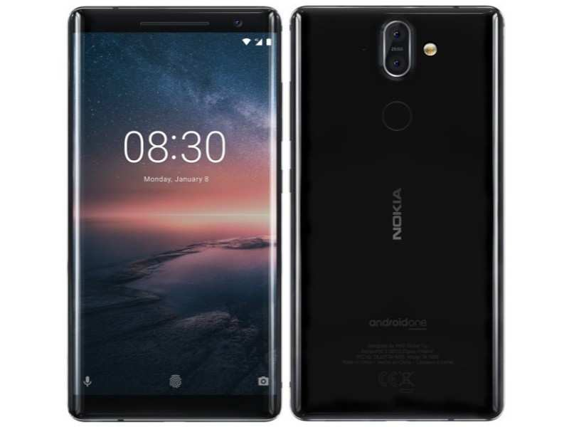 Nokia 8 ​Sirocco: Rs 47,498