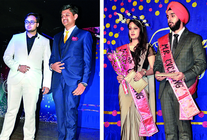 (L) Divyansh and Luv (R) Ishika and Harshkaran (BCCL/ IB Singh)
