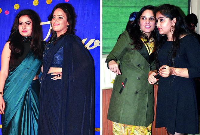 (L) Prerna and Vartika (R) Richa and Harneet (BCCL/ IB Singh)