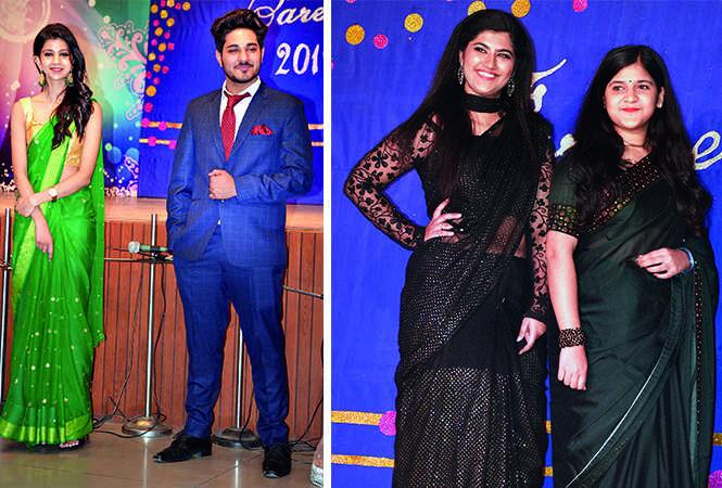 (L) Shivantika and Kunal (R) Vanshika and Dhairya (BCCL/ IB Singh)